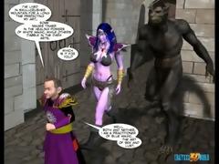 5d comic: world of neverquest. movie 6
