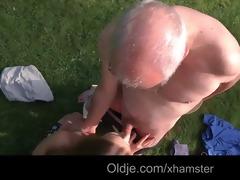 grandad cleans alexiss hairless juvenile snatch