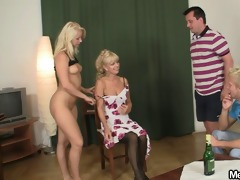 amoral parents lure his gf into three-some