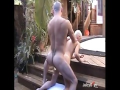 sexy daddy copulates his son