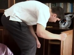 russian juvenile boy and old girl hard home fuck