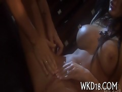 naughty three-some sex action