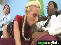 watching my daughter drilled by dark monster 95