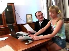 concupiscent schoolgirl copulates her teacher to