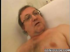 horny nurse engulf cock