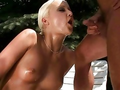 old man and hawt beauty pissing and fucking