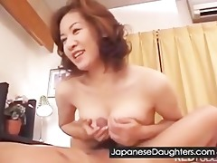 youthful japanese daughter humiliate