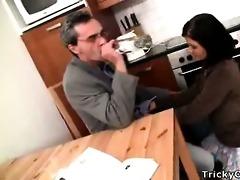 slutty teacher turns hawt coed into a obscene
