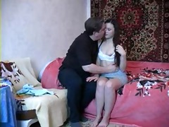 05 years old daughter with daddy