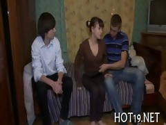 fine group-sex with legal age teenager beauty