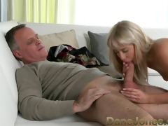 danejones bald golden-haired babe acquires vagina