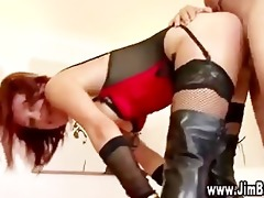 see old guy fuck redhead in the love tunnel