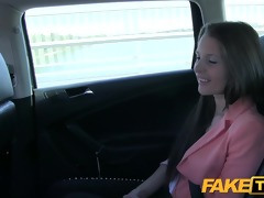 faketaxi youthful angel pounded to make up for