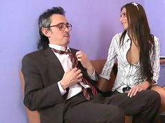 charming anal invasion with teacher