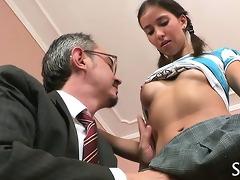 teacher is fucking youthful honey