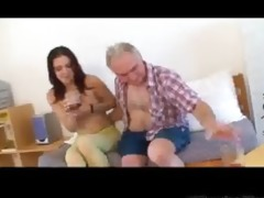 miniature tittted babe receives screwed by