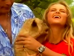 6 wildlife experts fuck a juvenile golden-haired
