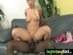 white chick takes biggest dark jock 77