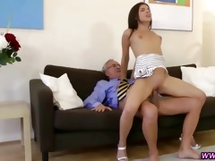 mature chap fucking sexy younger stocking legal