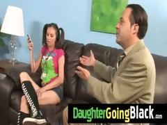 watch how my daughter is drilled by a dark dude 44