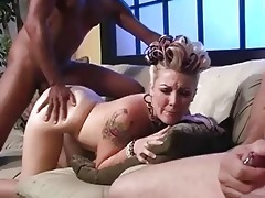 daddy jerks off during the time that babe