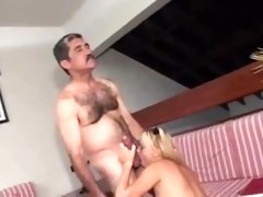 dad bonks his daughters ally