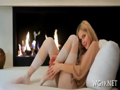 angel is undressing on livecam