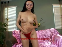 dilettante oriental hotty pov porn try-out