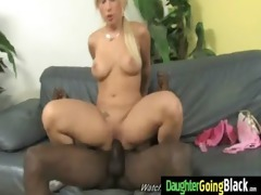 watch my daughter going on a monster dark cock 56