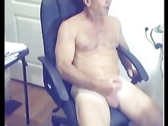 ripped sexy curly daddy discharges loan