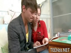 legal age teenager student bonks with tutor