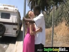 youthful daughter with precious wazoo drilled by